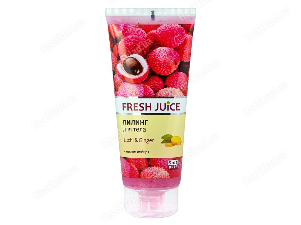 Пилинг для тела Fresh Juice Litchi & Ginger 200мл